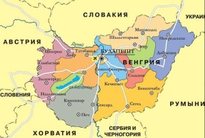 Tour-Венгрия-Карта