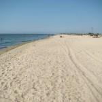 Лебедевка пляж