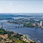 Киев четыре моста