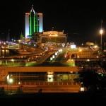 морской вокзал ночью